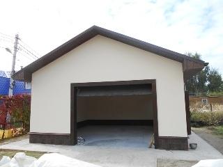 Автоматические рулонные ворота в гараж