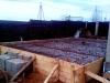 Армирование фундаментной плиты гаража