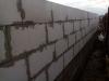 Кладка стеновых блоков.