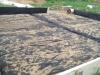 23.05.18. Монтаж опалубки плиты, укладка геотекстиля под песчаное основание