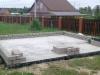 31.05.18. Кладка бетонных блоков (цоколь)