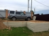 Монолитный ленточный фундамент гаража