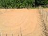 Завершение работ по устройству песчаного основания