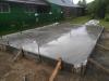 После бетонирования.