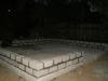 Кладка цоколя из бетонных блоков
