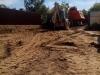 Планировка площадки и погрузка грунта для вывоза