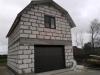Главный фасад гаража