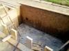 Фундаментная плита подвала с выпусками арматуры