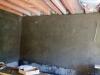 Оштукатуривание стен первого этажа