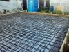 Армирование фундаментной плиты