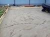 Монтаж опалубки, устройство песчаного основания