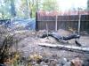 Подготовительные работы, выкорчевывание деревьев, планировка площадки