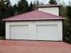 Завершение реконструкции гаража