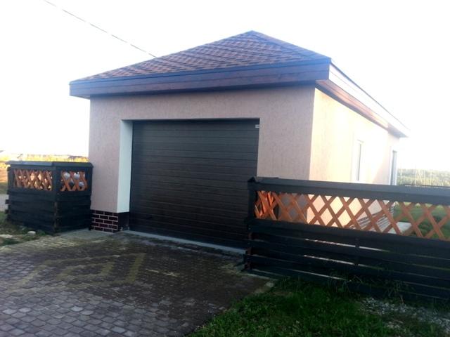 Ворота для гаража из сэндвич панелей