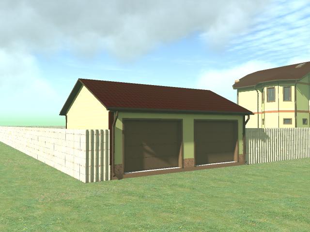 строительство гаража из пеноблоков зимой