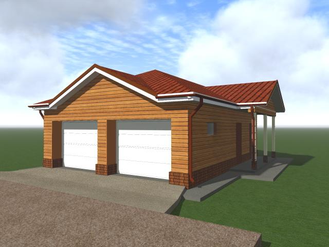 проект гаража в Ногинском районе