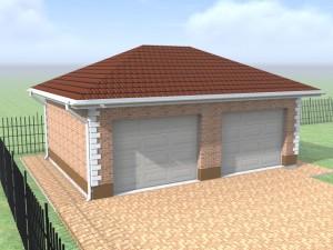 построить гараж на две машины в поселке Европа
