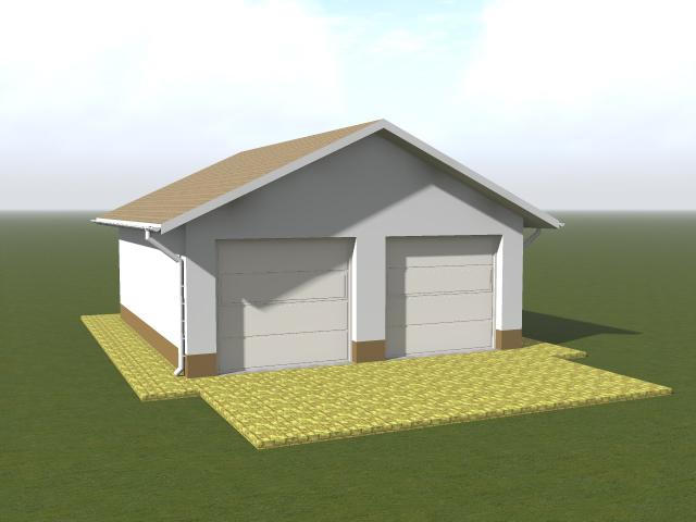 Проект гаража с монолитным подвалом