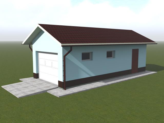 Как построить гараж с хозяйственной частью - проектирование и строительство