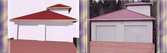 реконструкция гаража, пеноблоки