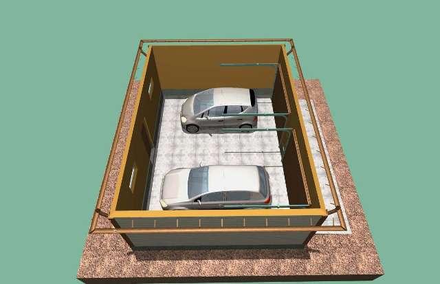 Интерьер помещения гаража