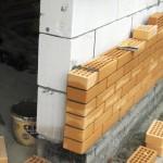 облицовка стен гаража кирпичом