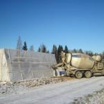 строительство гаража зимой - преимущества и недостатки