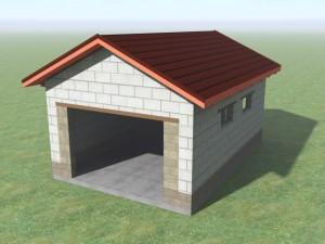 Проекты и цены. Как построить дешевый гараж Стоимость 422 000 руб..
