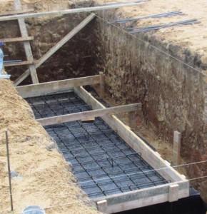 гидроизоляция и армирование плиты ямы