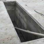 смотровая яма в гараже - монолитное исполнение