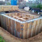 Как построить монолитный подвал в гараже