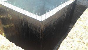 Вертикальная наплавляемая гидроизоляция