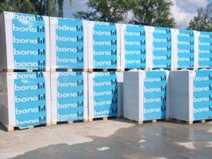 Газобетонные блоки Бонолит для строительства гаража