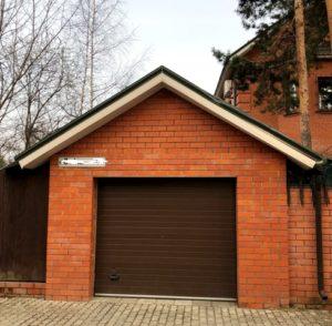 Маленький гараж до реконструкции с расширением площади