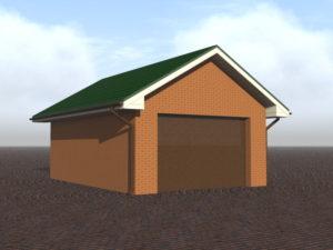 Реконструкция гаража из кирпича