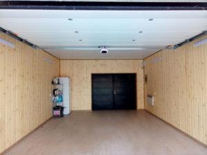 Внутренняя отделка гаража после реконструкции