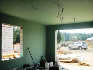 Внутренняя отделка гаража гипсокартоном