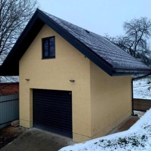 Стройка гаража с мансардой под ключ