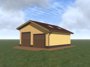 Строительство гаража для грузовых автомобилей