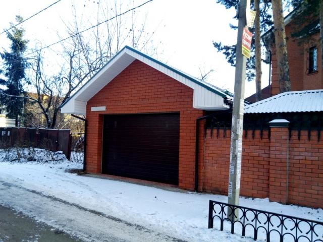 Реконструкция гаража Виктора Елисеева